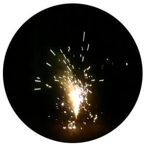 Fireworks for Self-Esteem & Motivation to be confident on Projects page